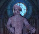 Statue von Admiral Barean Westwind