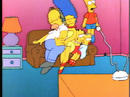Bart the Genius couch gag (Bart squeezed in the air).png