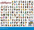 5002483 Poster Minifigures