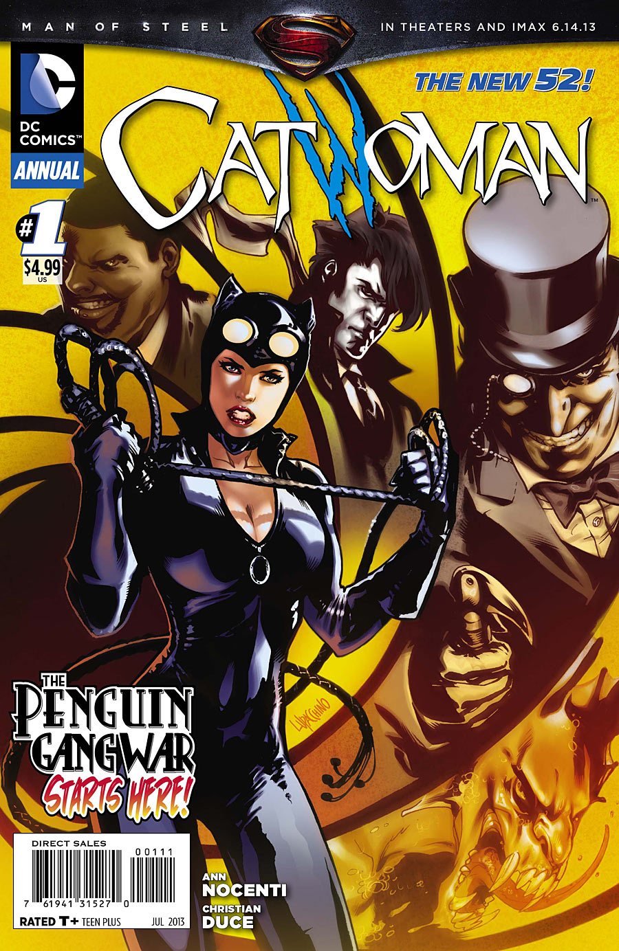 4 1 My Fall Uniform: Cover For Catwoman Annual #1 (2013