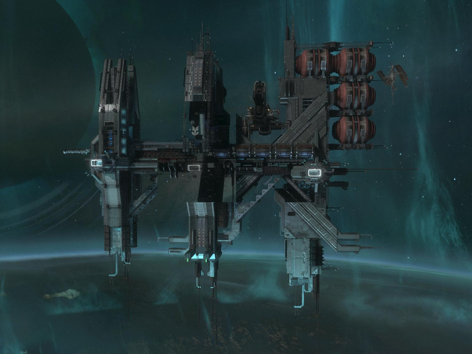 unsc space station huge - photo #7