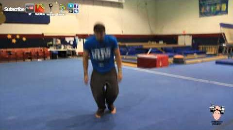 How to do a backflip part 3- gymnastics back flip tutorial