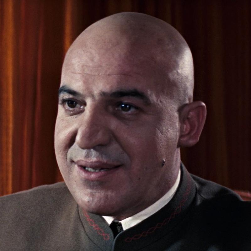 Blofeld (Telly Savalas)