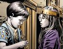 Dadingra Ummon Turru (Earth-1365) and Yabbat Ummon Turru (Earth-1365) from New Avengers Vol 3 5 0001.png