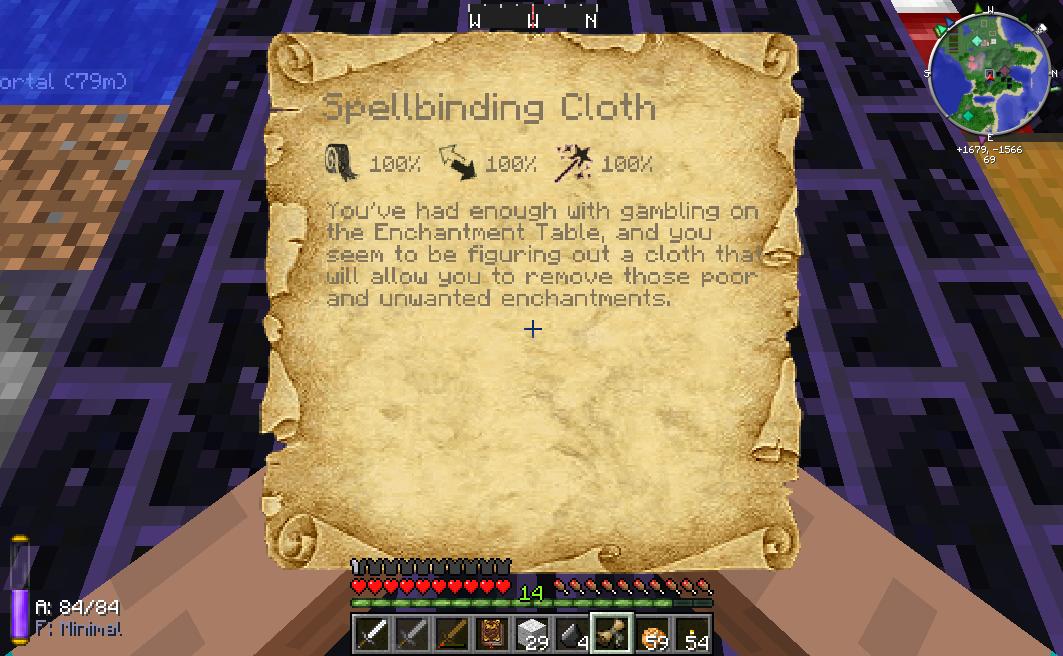 Spellbinding Cloth Feed The Beast Wiki