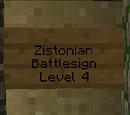 Zistonian Battlesign