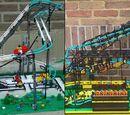 Working Roller Coaster!