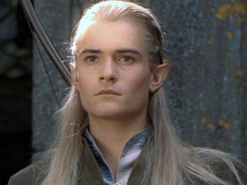 Legolas Lord Of The Rings Smile Legolas in Rivendell