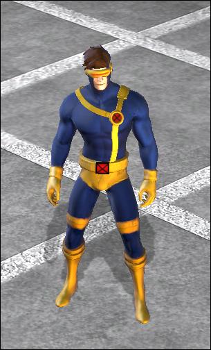 Cyclops CostumesX Men Cyclops Costume