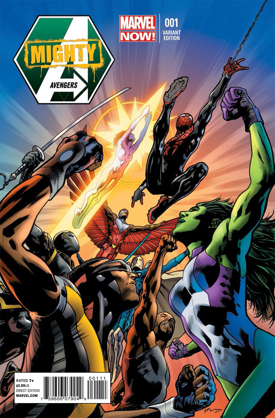 mighty avengers vol 2 1 marvel comics database. Black Bedroom Furniture Sets. Home Design Ideas