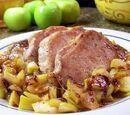 Caramel Apple Porkchops
