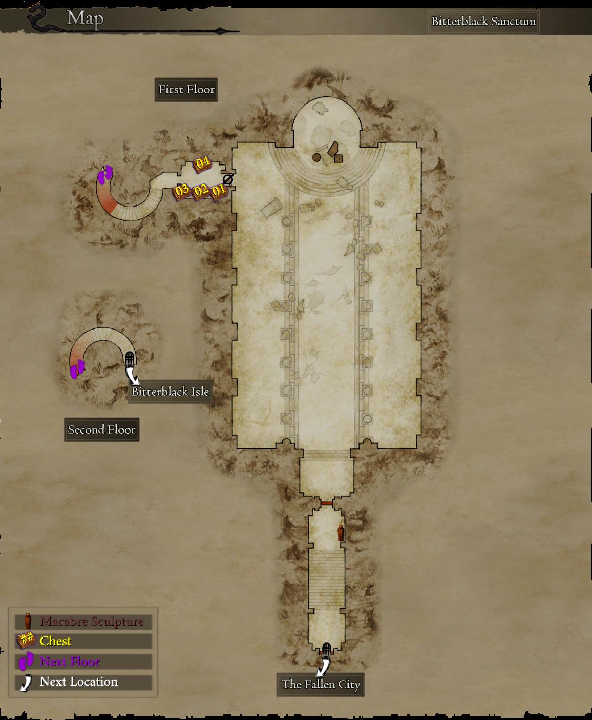 Farming Bitterblack level 3 armor, weapons and gear using Godsbane on