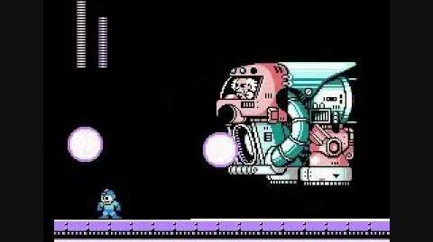 Mega Man 4 Dr. Wily Glitched