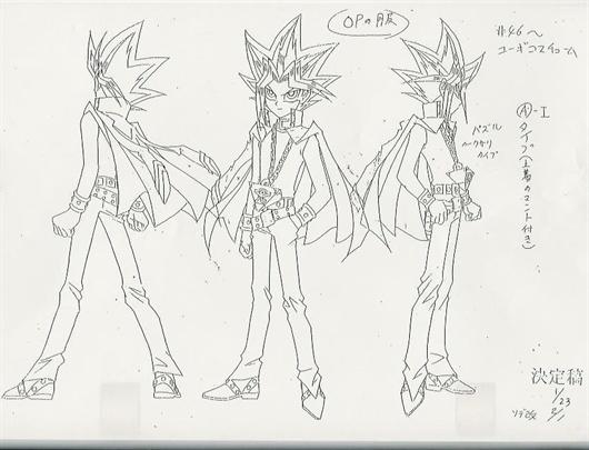 Yugioh Character Design : Img show x