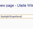Singer Spotlight Tutorial
