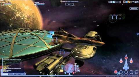 Battlestar Galactia Online - Fleet Fly Around
