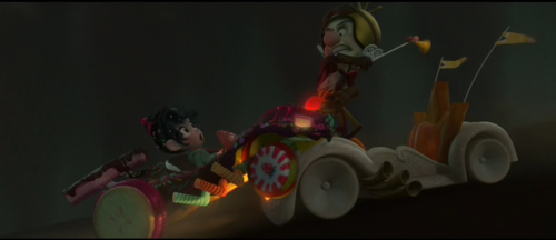 Image - King Candy attacking Vanellope.png - Wreck-It ... Vanellope And King Candy