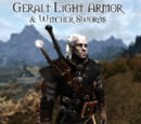 Geralt Light Armor & Witcher Swords