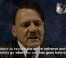 Hitler plans to explore space