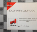 1987 - 1 April: Lille (France)