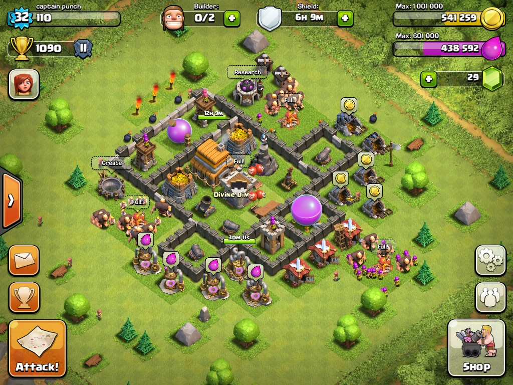 Clash of Clans Batman Base