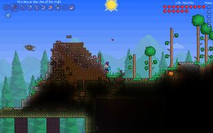 how to get a meteorite in terraria