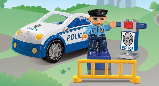 4963 la voiture de police wiki lego. Black Bedroom Furniture Sets. Home Design Ideas