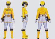 yellow power ranger megaforce - photo #28