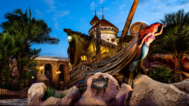Little Mermaid Ride Disney World Images u0026 Pictures - Becuo