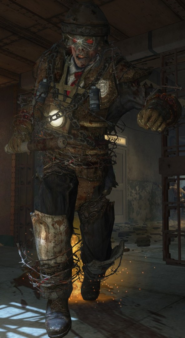 Brutus zombies the call of duty wiki black ops ii - Mob of the dead pictures ...