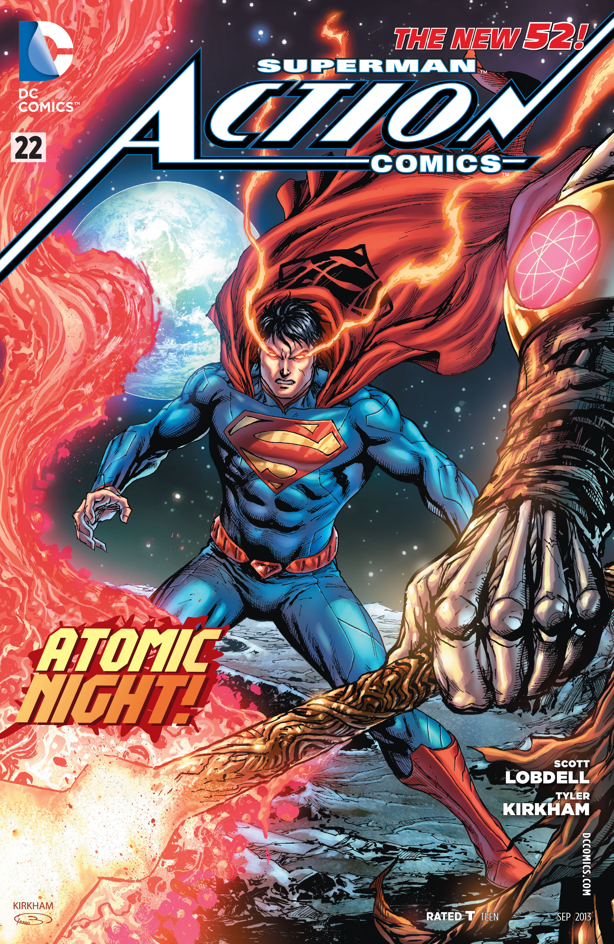 Cover For Action Comics #22 (2013
