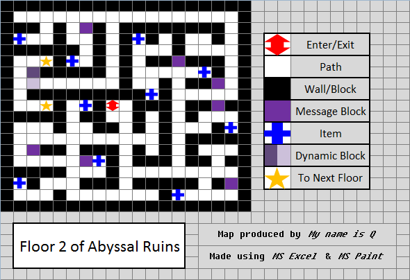 Abyssal ruins the pok mon wiki for Floor 2 swordburst 2