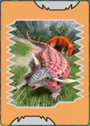 Image pawpawsaurus anime card png dinosaur king wikia