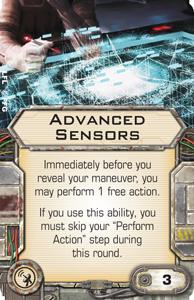 Advanced Sensors X Wing Miniatures Wiki