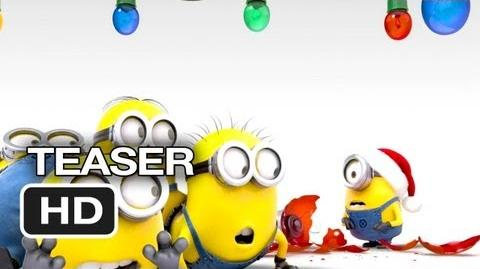 Despicable Me 2 TEASER - Merry Christmas (2013) - Steve Carell, Kristen Wiig Movie HD