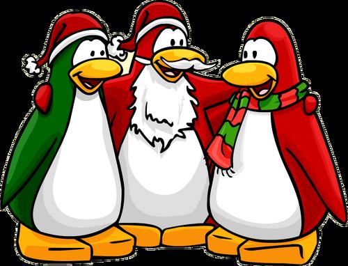 penguins penguin santa hat wikia unwanted tips