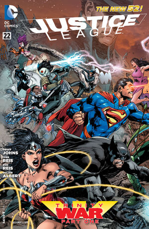 Cover for Justice League #22 (2013)