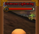 Crimson Lightning