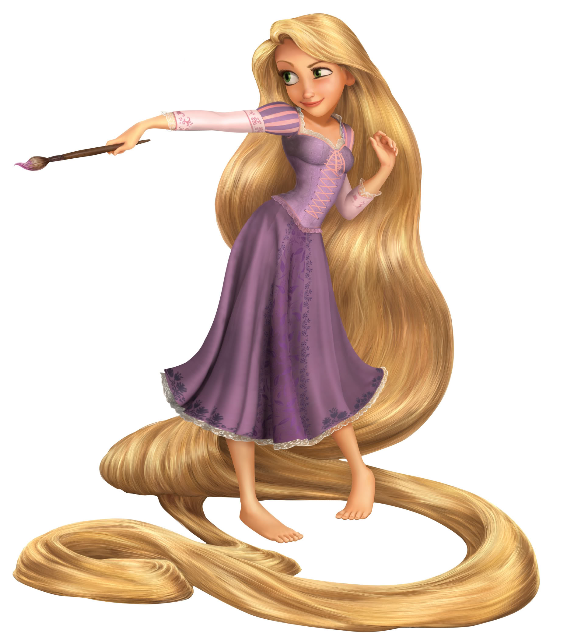 Disney: Rapunzelpainting