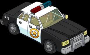 Just Cause  Cop Car Transparent
