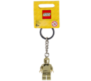 850807 Gold Minifigure Key Chain