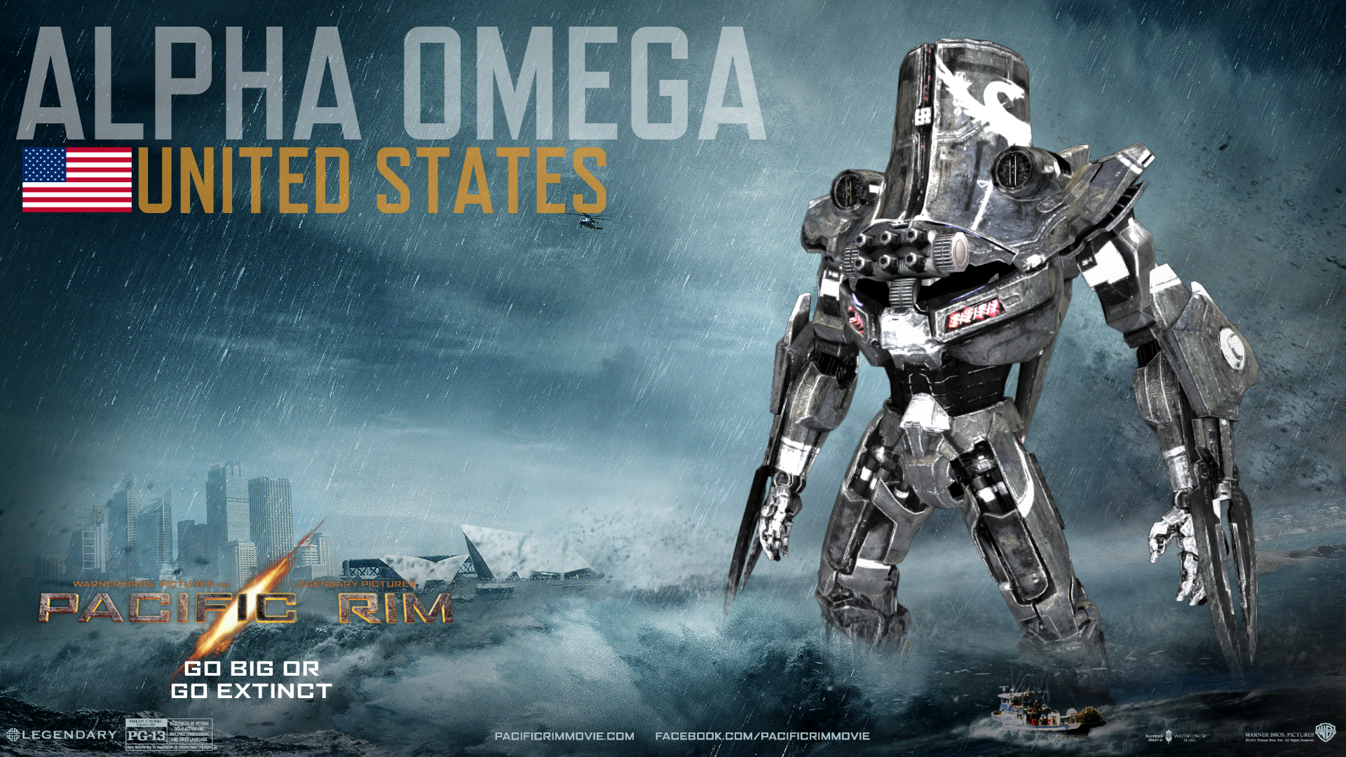 Gallery images and information: pacific rim jaeger cherno alpha