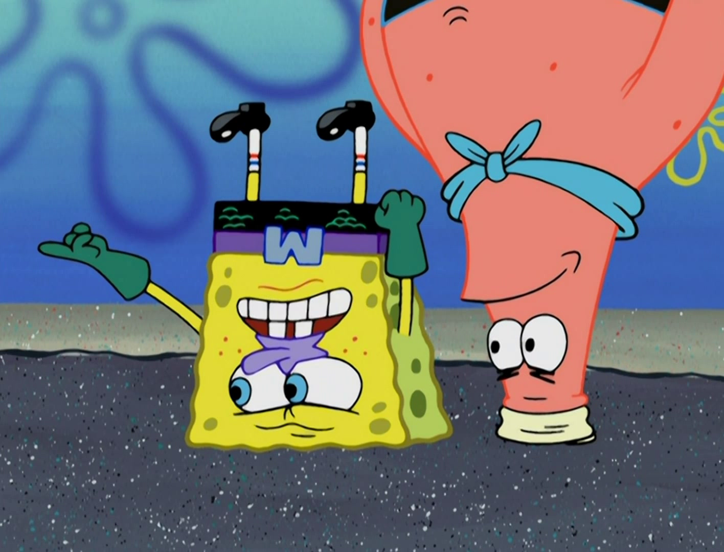 spongebob squarepants nausea fuel tv tropes