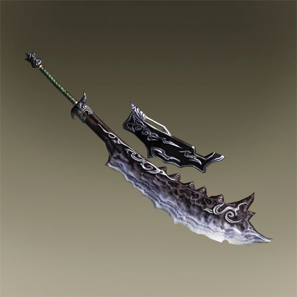 Warriors Orochi 3 Ultimate Guan Yu Mystic Weapon: Kijin Daioh Weapon Set 1 (TKD DLC).jpg
