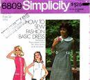 Simplicity 6809 A