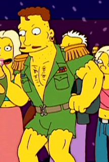 from Gordon gay for moleman simpsons