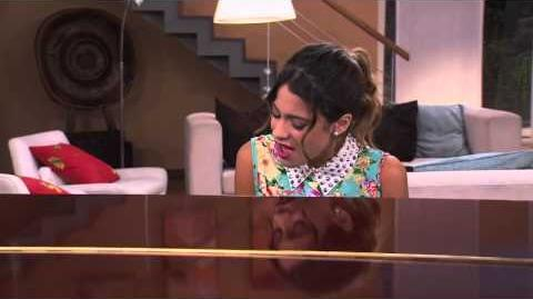 Violetta sings In My Own World at the piano