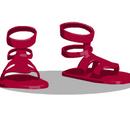 Crimson Sandals