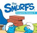 Smurfs: Complete Season 4 (Region 4 DVD)