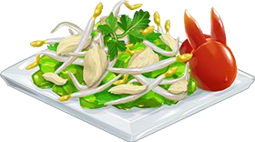 Recipe-Bean Sprout Chicken Salad